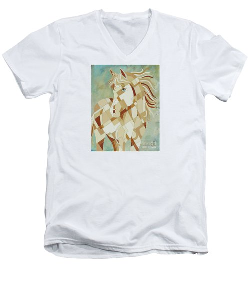 The Tao Of Being Carefree Men's V-Neck T-Shirt