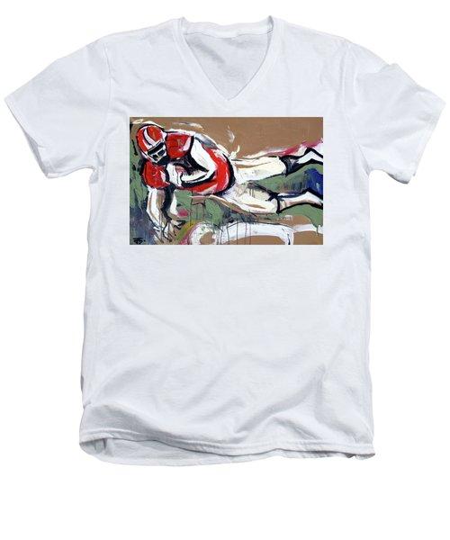 The Touchdown Men's V-Neck T-Shirt