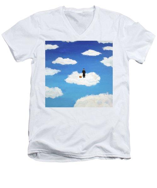 The Traveler Men's V-Neck T-Shirt