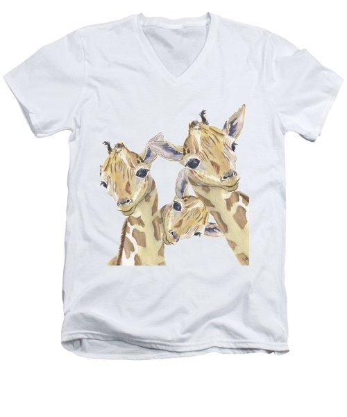 The Trios Men's V-Neck T-Shirt