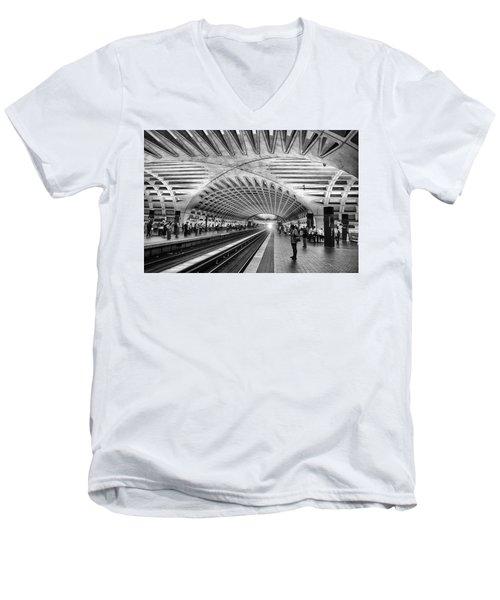 The Tubes Men's V-Neck T-Shirt