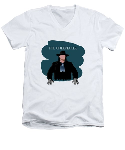 The Undertaker Sketch 2 Men's V-Neck T-Shirt