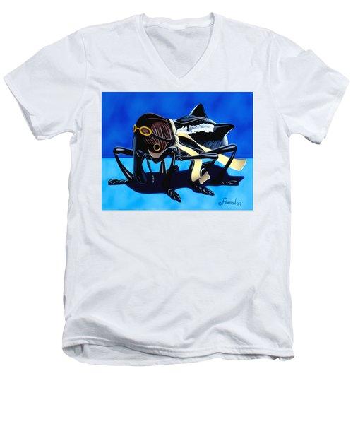 The Veteran Men's V-Neck T-Shirt