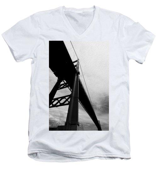 The Vincent Thomas Men's V-Neck T-Shirt