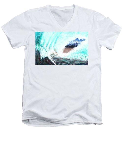 The Wave Men's V-Neck T-Shirt