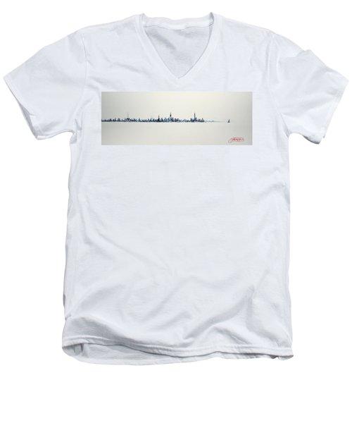 The Westside Men's V-Neck T-Shirt