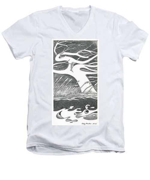 The Wind Men's V-Neck T-Shirt