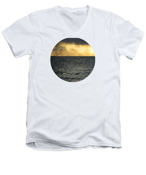 The Wonder Of It All Men's V-Neck T-Shirt by Mary Wolf
