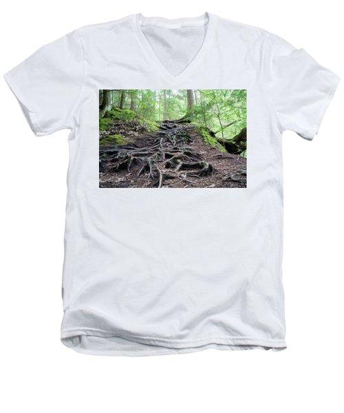 The Woods Men's V-Neck T-Shirt