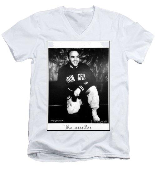 The Wrestler  Men's V-Neck T-Shirt