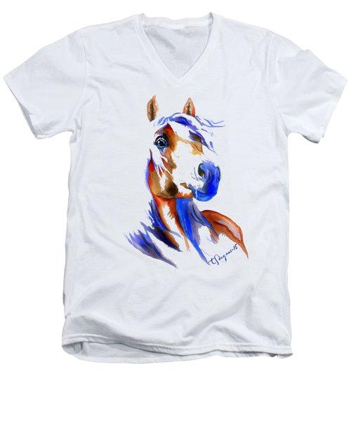 The Young Rebel Men's V-Neck T-Shirt