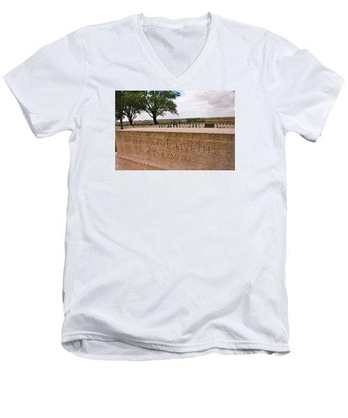 Their Name Liveth For Evermore Men's V-Neck T-Shirt