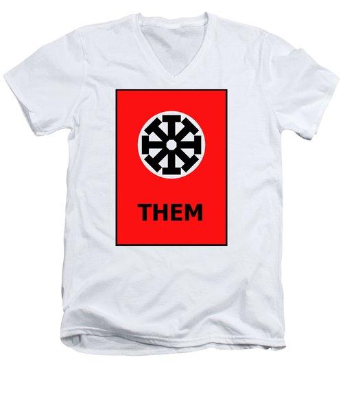 Them Men's V-Neck T-Shirt