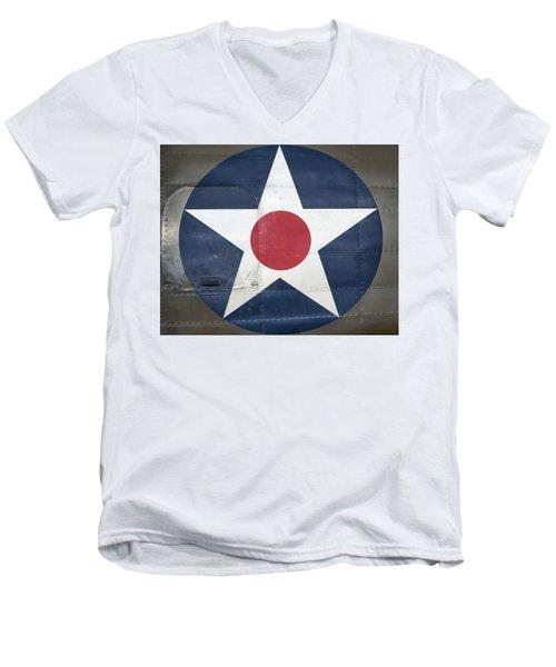 These Colors Don't Run - 2016 Christopher Buff, Www.aviationbuff.com Men's V-Neck T-Shirt