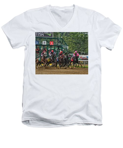 They're Off Men's V-Neck T-Shirt