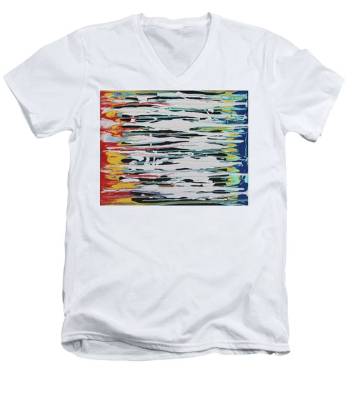 This Is Us Men's V-Neck T-Shirt by Cyrionna The Cyerial Artist