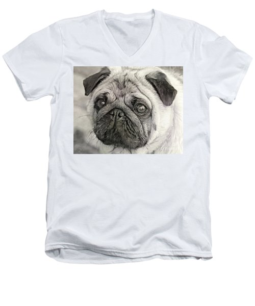 This Puggy Men's V-Neck T-Shirt