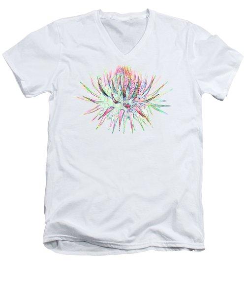 thistlehead2 T-shirt Men's V-Neck T-Shirt