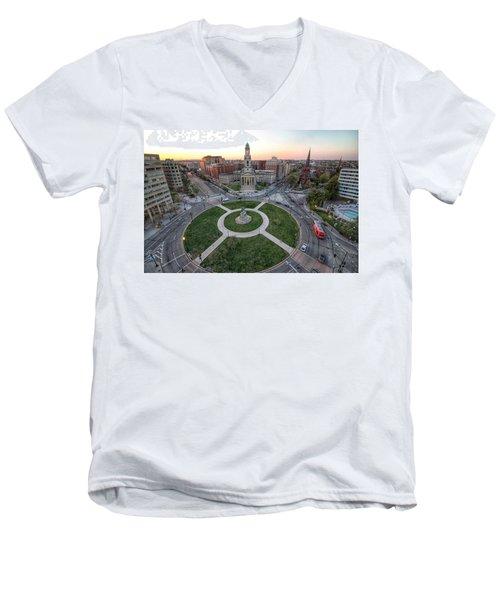 Thomas Circle Men's V-Neck T-Shirt