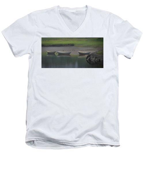 Three Dories Men's V-Neck T-Shirt