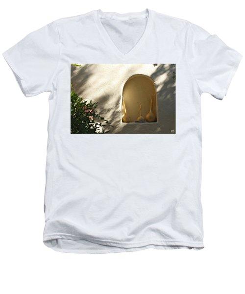 Three Gourds Men's V-Neck T-Shirt