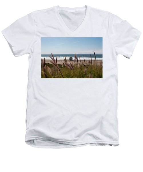 Through The Reeds Men's V-Neck T-Shirt