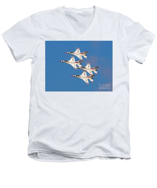 Thunderbird Diamond Men's V-Neck T-Shirt