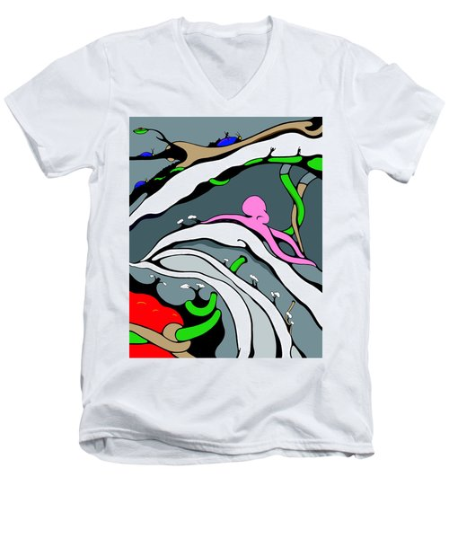 Tidal Men's V-Neck T-Shirt
