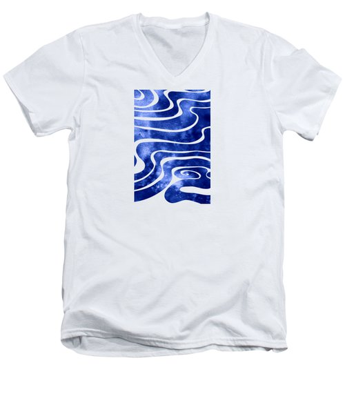 Tide V Men's V-Neck T-Shirt
