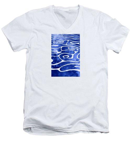 Tide Vii Men's V-Neck T-Shirt