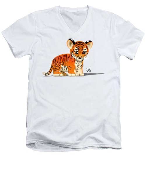 Tiger Cub Men's V-Neck T-Shirt