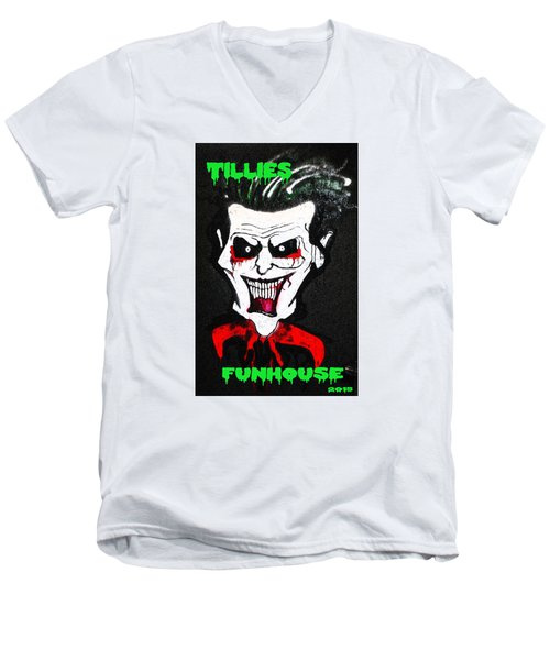 Tillies Vamp Men's V-Neck T-Shirt by Patricia Arroyo