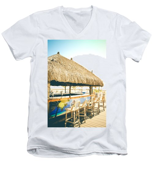Time To Tiki Men's V-Neck T-Shirt