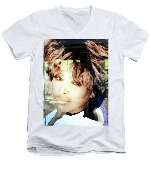Tina Turner Museum 2 Men's V-Neck T-Shirt