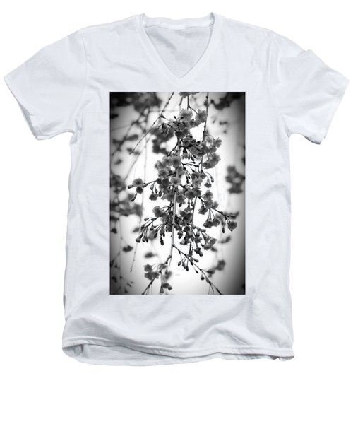 Tiny Buds And Blooms Men's V-Neck T-Shirt