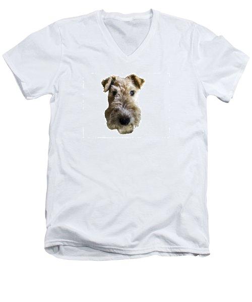 Tipper The Fox Terrier Men's V-Neck T-Shirt
