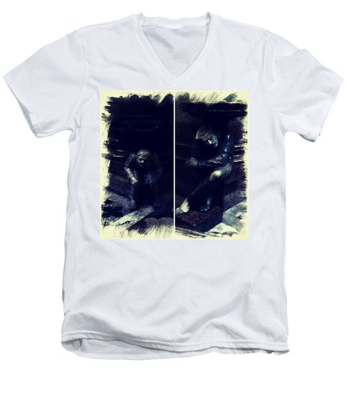 Tired Thinkers Men's V-Neck T-Shirt