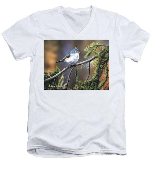 Titmouse Men's V-Neck T-Shirt