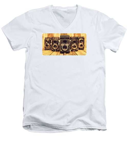 Tlr Group Men's V-Neck T-Shirt by Keith Hawley