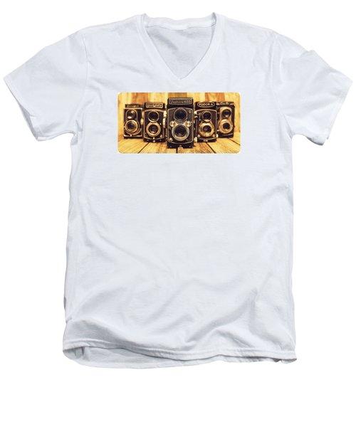 Tlr Group Men's V-Neck T-Shirt
