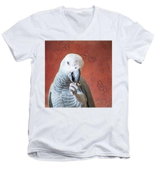 To Be Owned By A Grey Is To Know Love Men's V-Neck T-Shirt