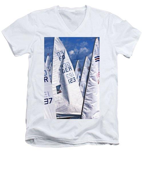 To Sea - To Sea  Men's V-Neck T-Shirt