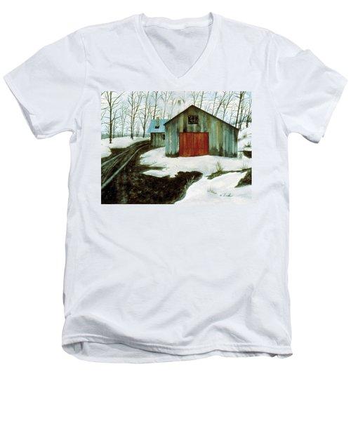 To The Sugar House Men's V-Neck T-Shirt