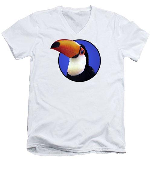 Toco Toucan Men's V-Neck T-Shirt