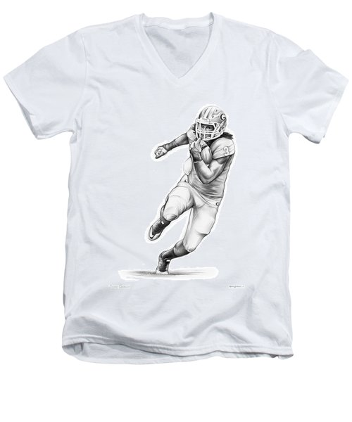 Todd Gurley Men's V-Neck T-Shirt