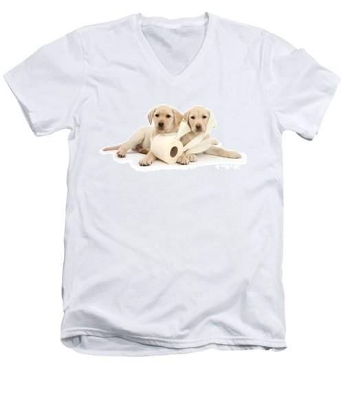 Toilet Humour Men's V-Neck T-Shirt