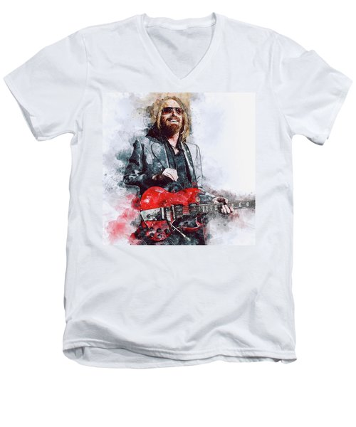 Tom Petty - 21 Men's V-Neck T-Shirt