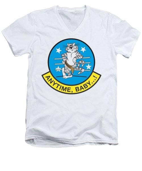 Tomcat Anytime Baby Men's V-Neck T-Shirt