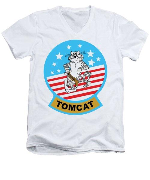 Tomcat Men's V-Neck T-Shirt