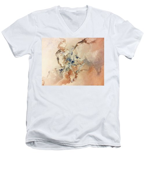 Tomorrows Dream Men's V-Neck T-Shirt by Raymond Doward